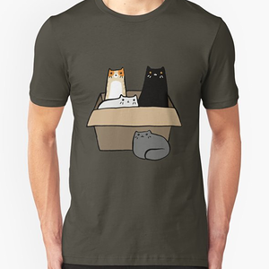 RedBubble: Cats in a Box