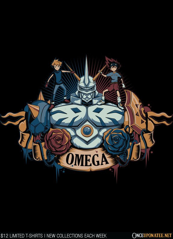 Once Upon a Tee: Omegamon