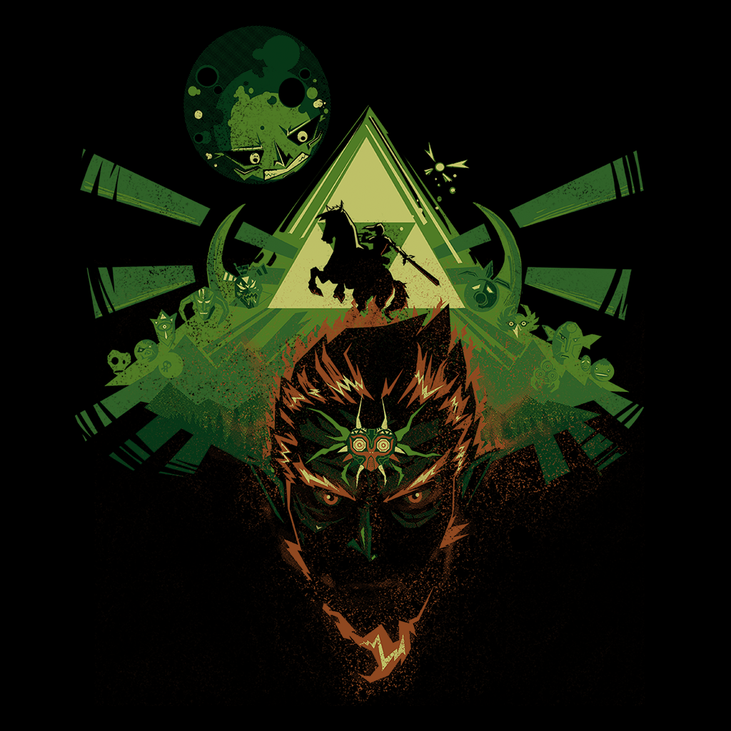Pop-Up Tee: Link's Nightmare