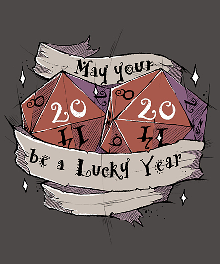 Qwertee: May Your 2020