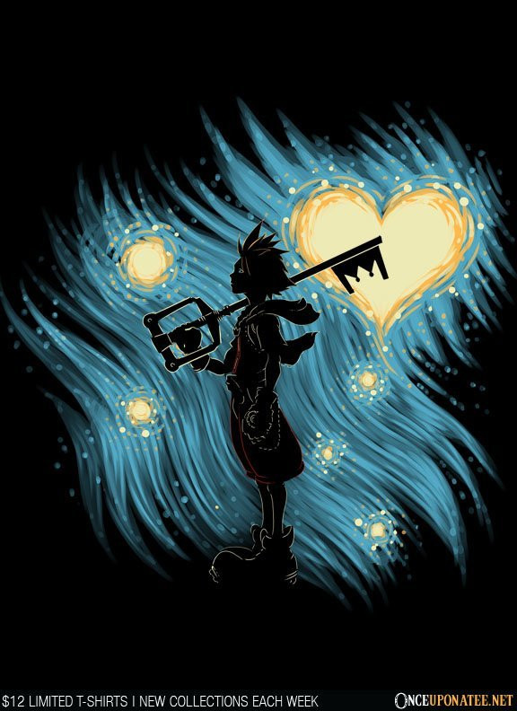 Once Upon a Tee: Starry Hearts