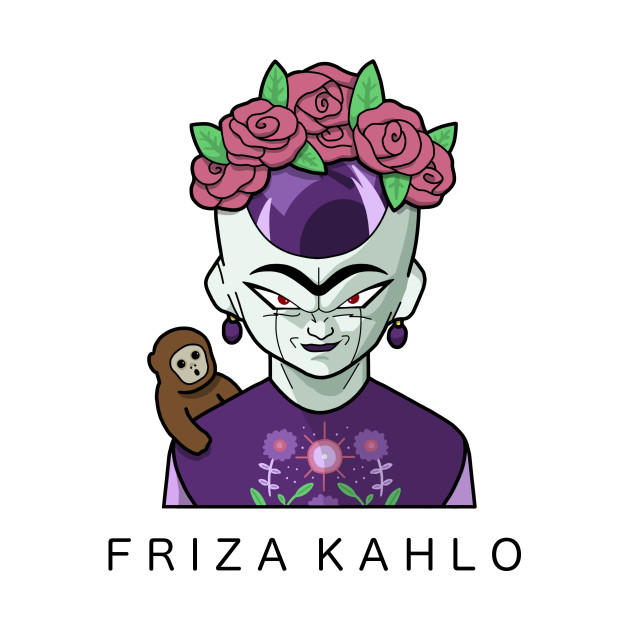TeePublic: FRIZA KAHLO