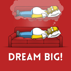 Qwertee: Dream Big!