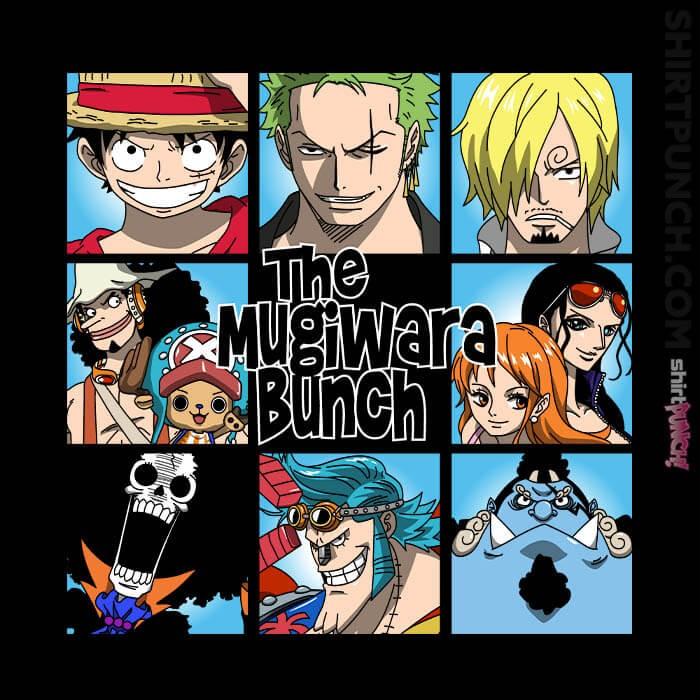 ShirtPunch: The Mugiwara Bunch