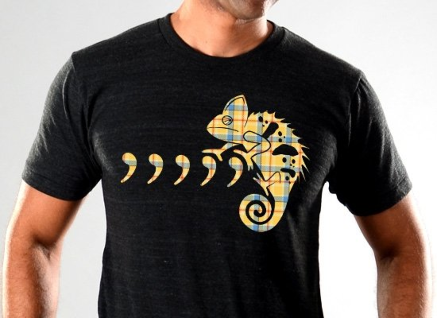 SnorgTees: Comma Chameleon Limited Edition Tri-Blend