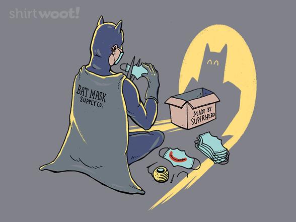 Woot!: Bat-Mask Supplier