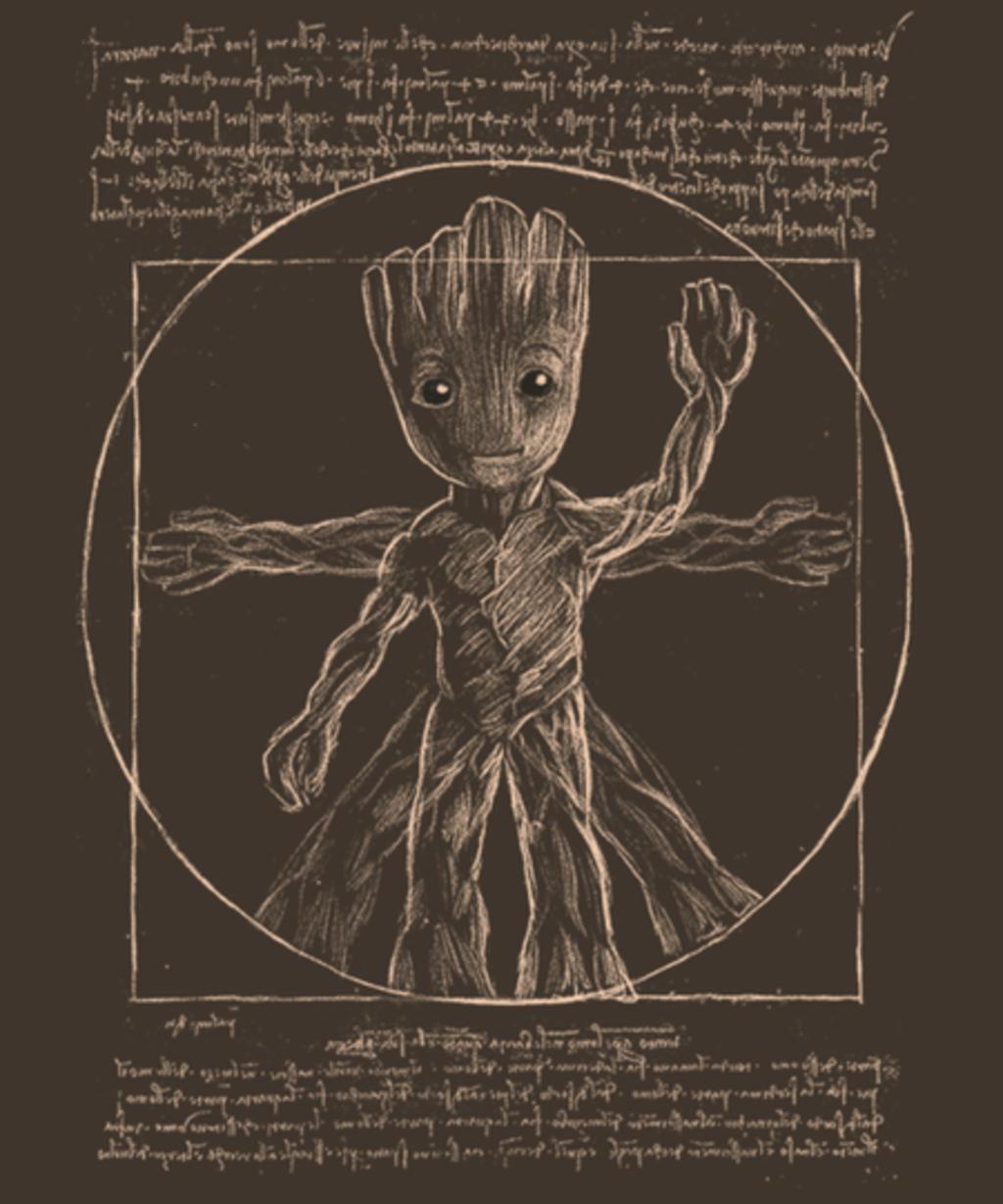 Qwertee: Vitruvian Groot