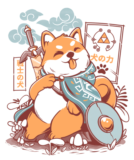 Qwertee: The legend of Dog