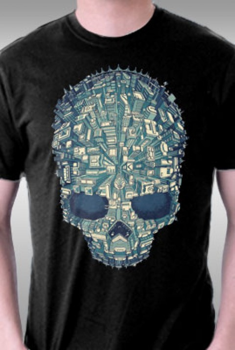 TeeFury: Welcome To Skull City
