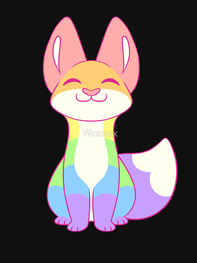 RedBubble: Gay Pride Fox