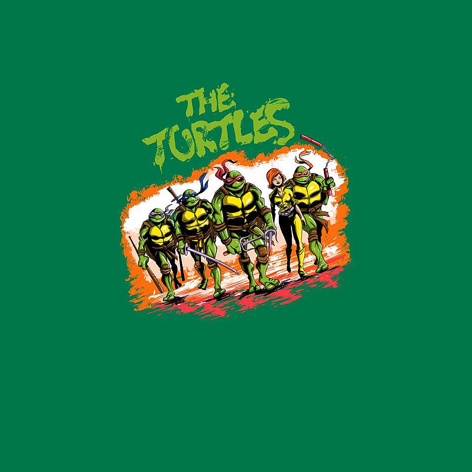 TeeFury: The Ninja Warriors