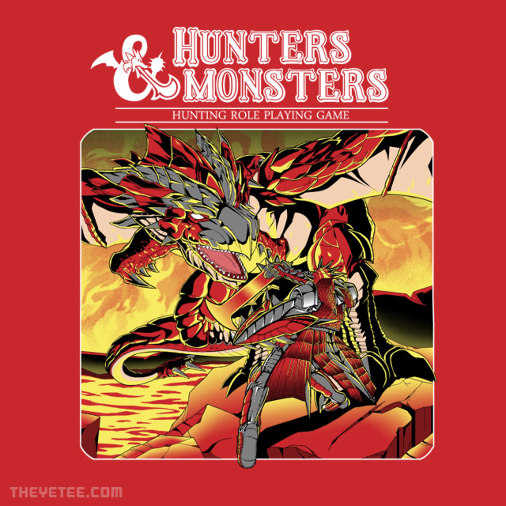 The Yetee: Hunters & Monsters