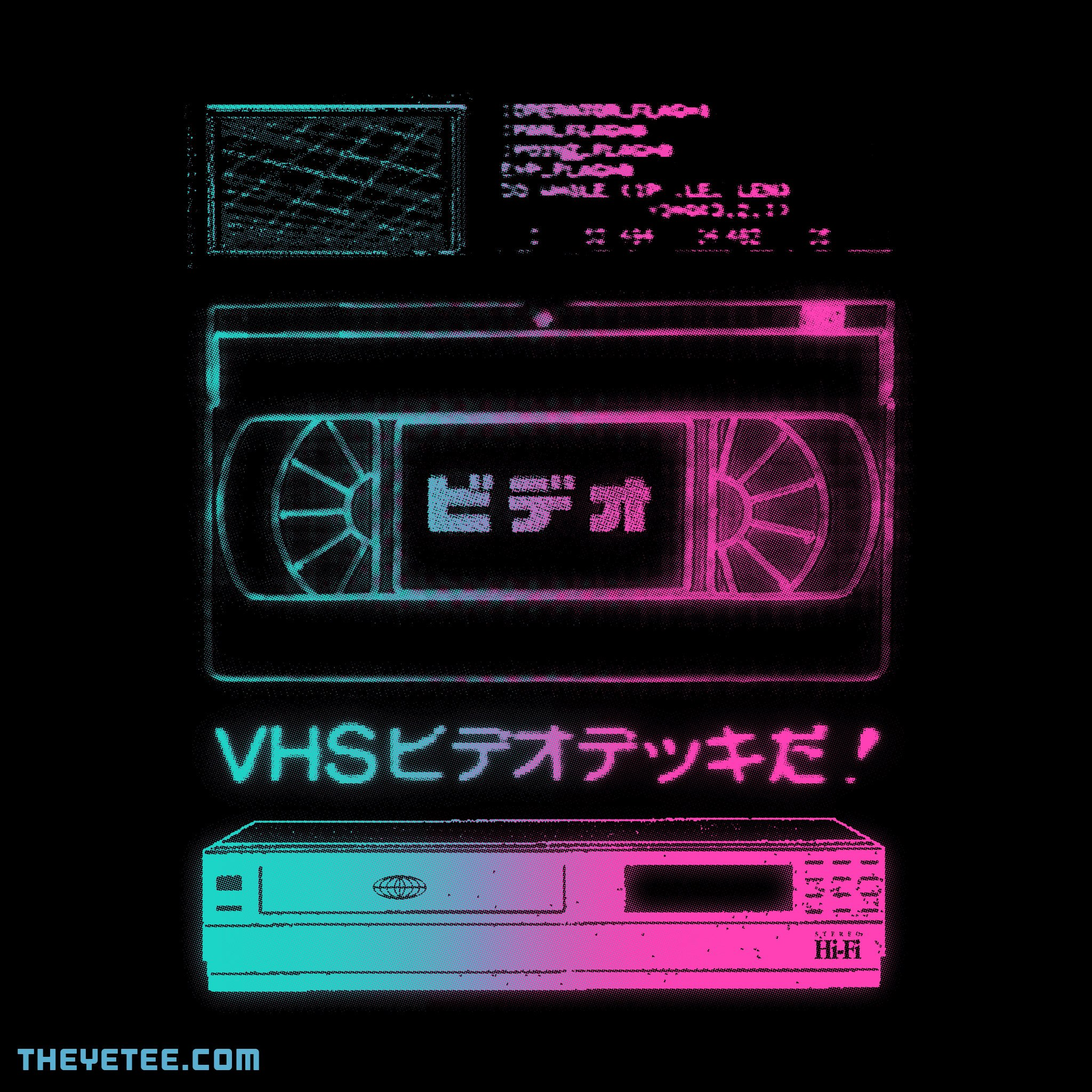 The Yetee: VHS Hi-Fi Video Deck