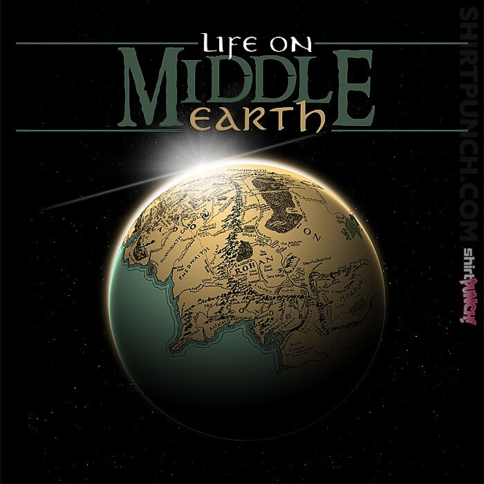 ShirtPunch: Life On Middle Earth