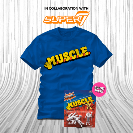 ShirtPunch: Super 7 Muscle Bundle