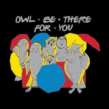 BustedTees: Owl Be There For You