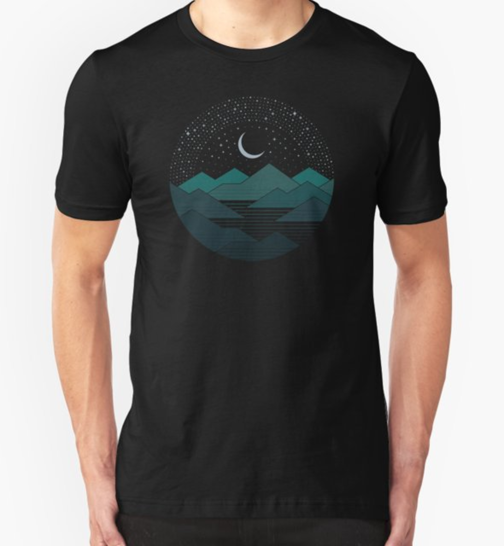 RedBubble: Between The Mountains And The Stars