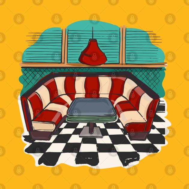 TeePublic: Restaurant Interior Design