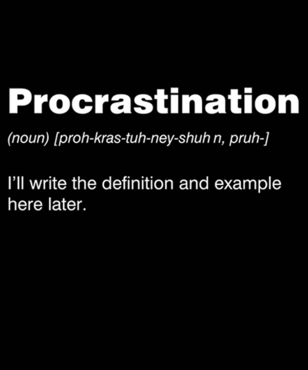 Qwertee: Procrastination