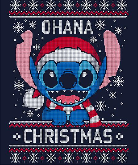 Qwertee: Ohana Christmas