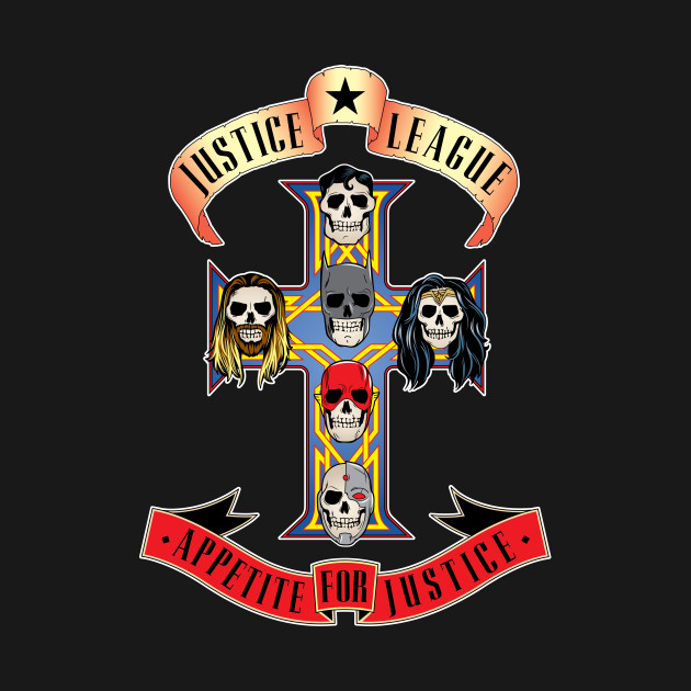 TeePublic: Appetite For Justice T-Shirt