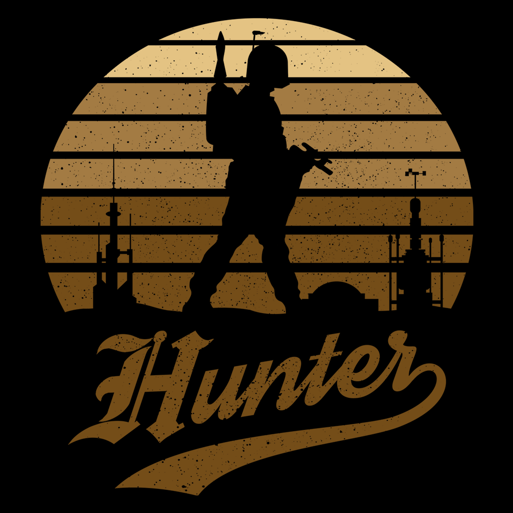 Pop-Up Tee: Horror Sun Set Hunter
