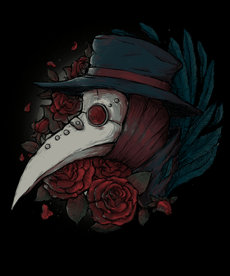Qwertee: Plague Doctor