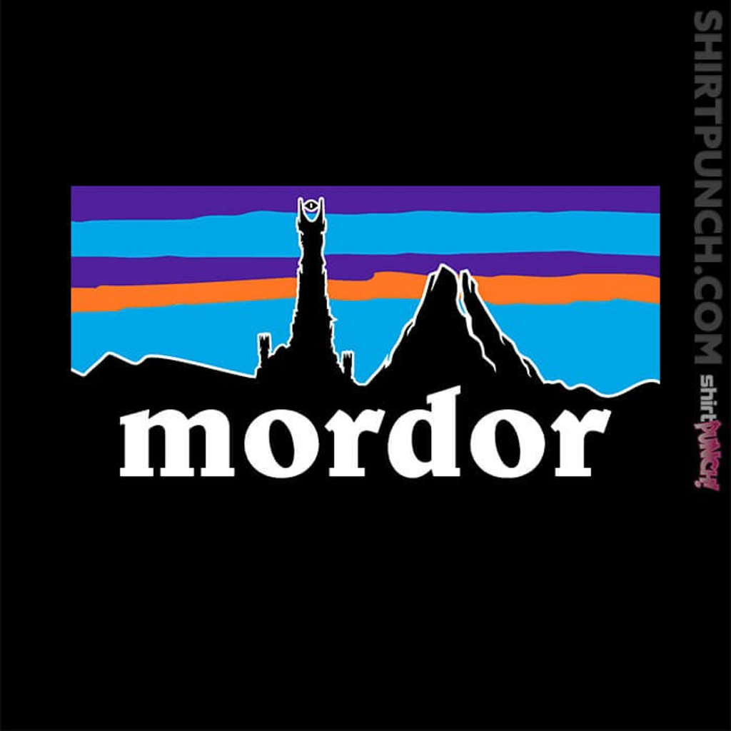 ShirtPunch: Mordor