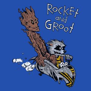 Pop-Up Tee: Rocket Groot
