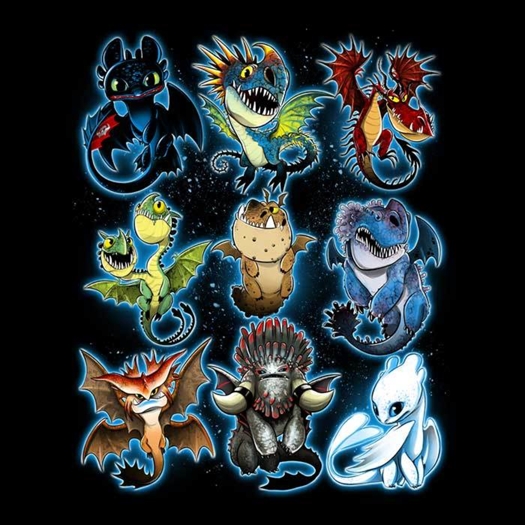 Once Upon a Tee: Trained Dragons