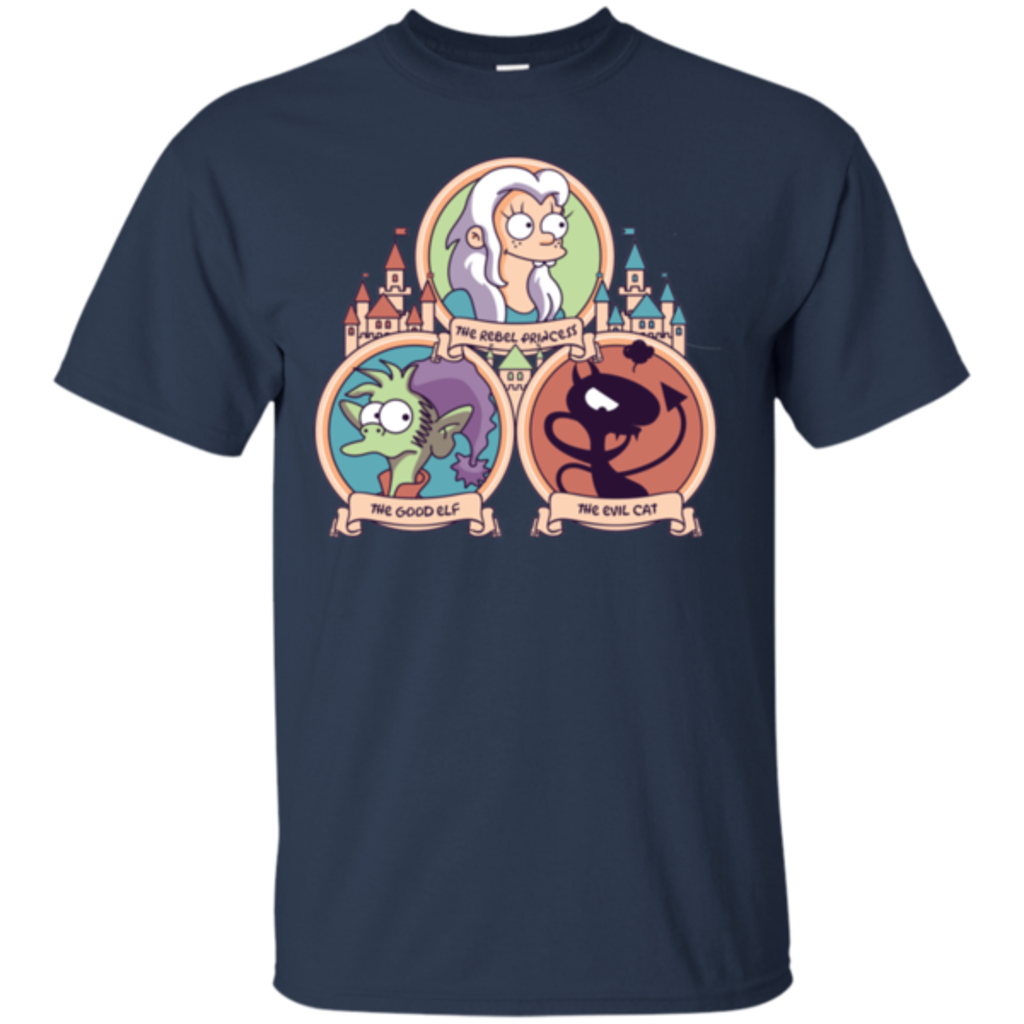 Pop-Up Tee: The Rebel, the Good and Evil Cat