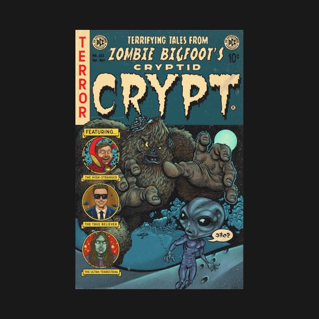 TeePublic: Zombie Bigfoot