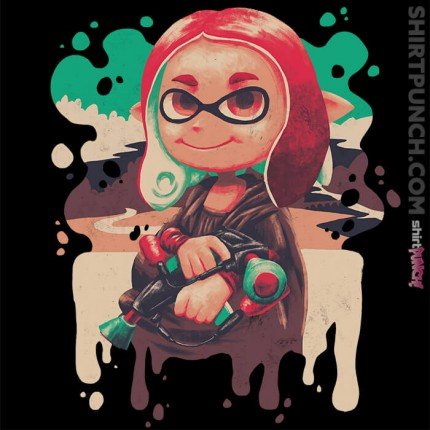 ShirtPunch: Inkling Lisa