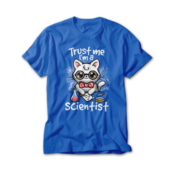 OtherTees: Trust a scientist cat