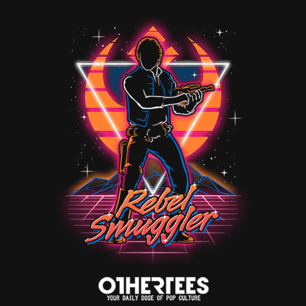 OtherTees: Retro Rebel Smuggler