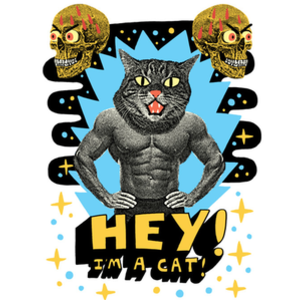 Design by Humans: Hey! I'm a cat!