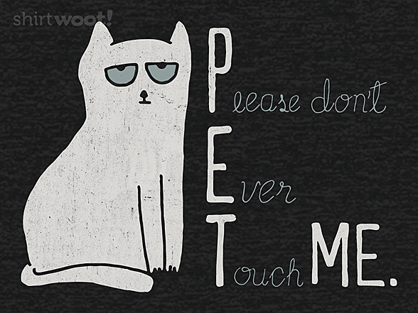 Woot!: To Pet or Not to Pet
