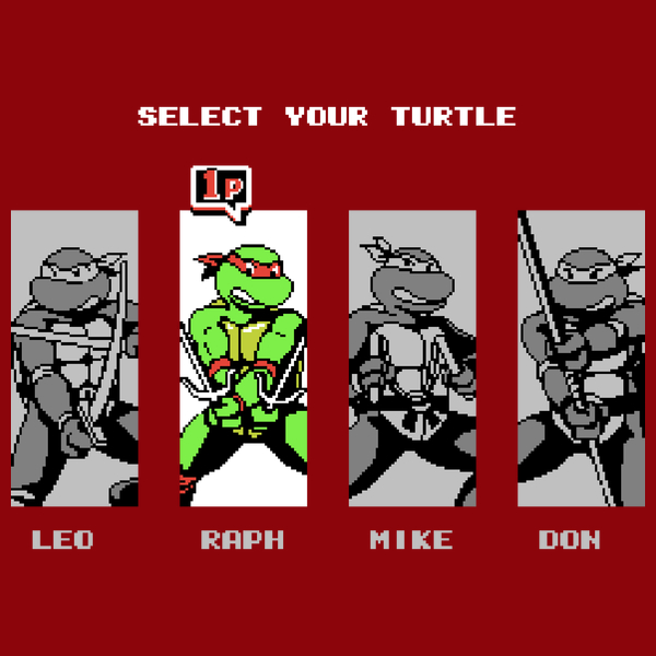 NeatoShop: TMNT 3 - Select Your Turtle - RAPHAEL