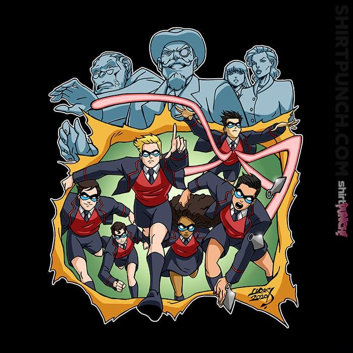 ShirtPunch: Umbrella Academy