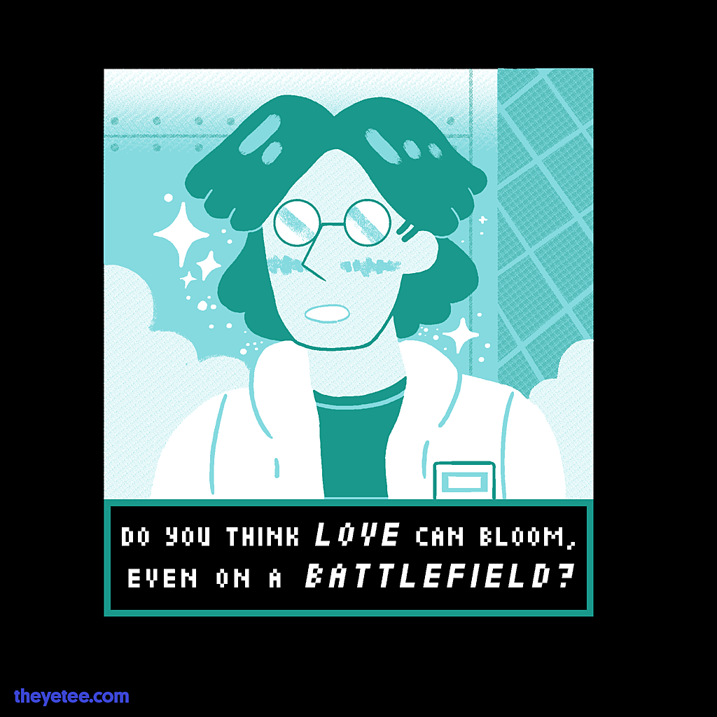 The Yetee: Love on a Battlefield