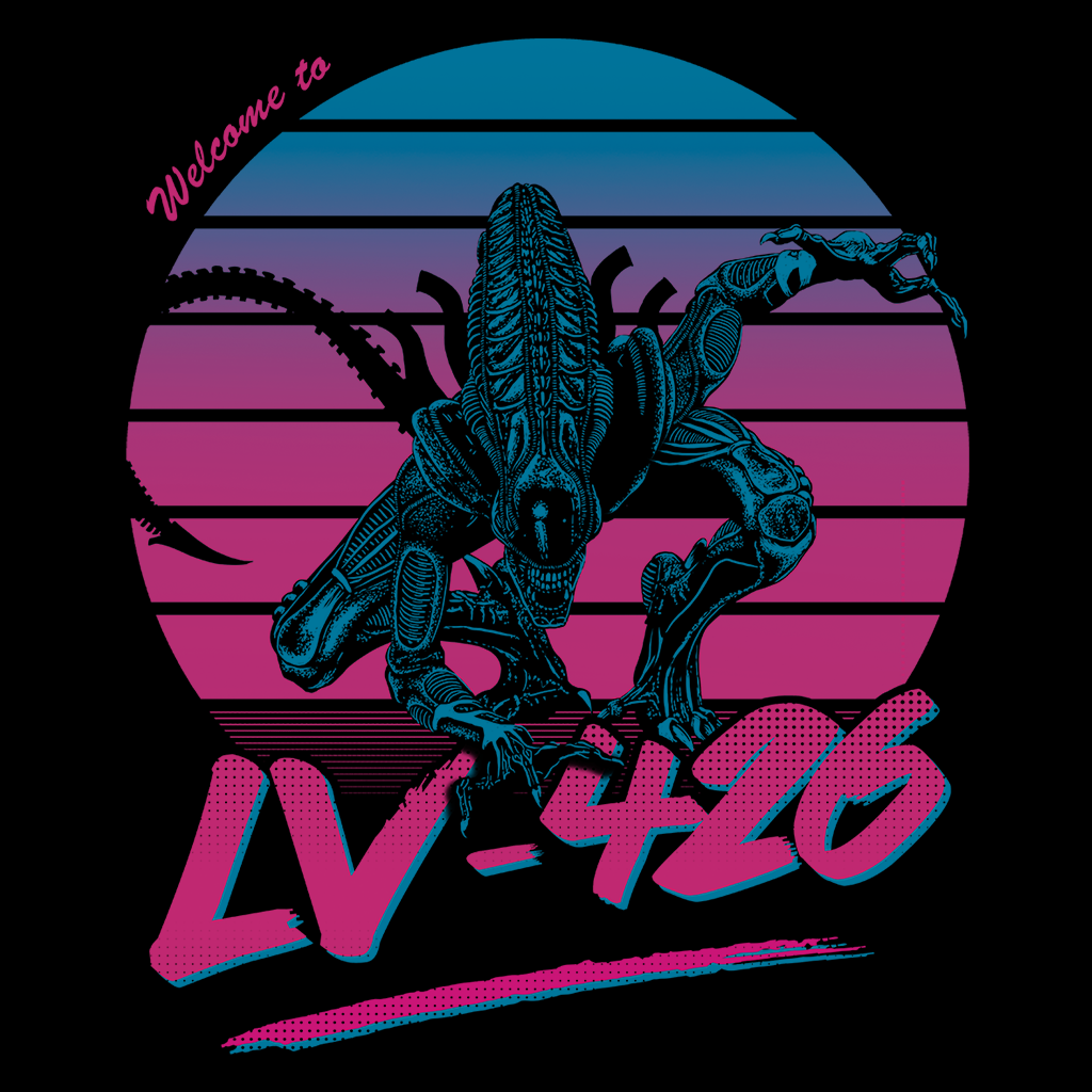 Pop-Up Tee: Welcome to LV-426