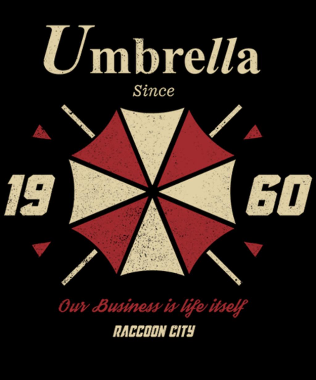 Qwertee: Umbrella