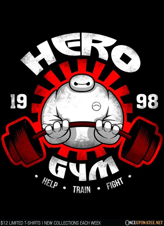Once Upon a Tee: Hero Gym