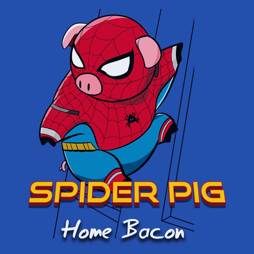 Pop-Up Tee: Spider Pig