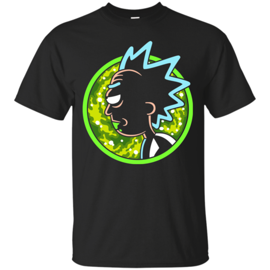 Pop-Up Tee: Rick crazy
