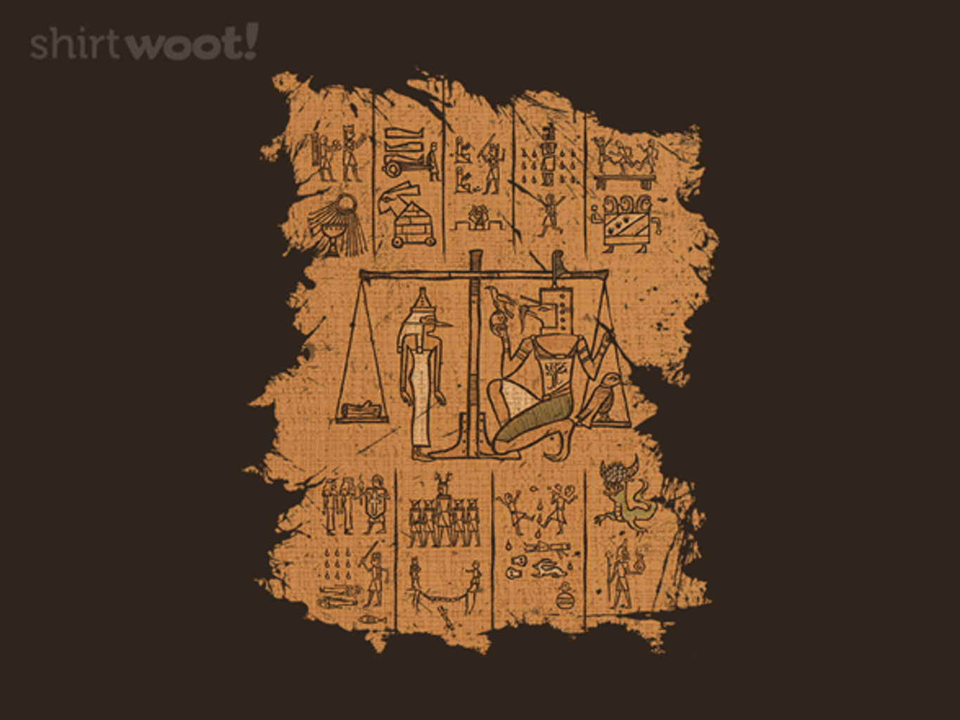 Woot!: The Pharaoh's Judgement - $15.00 + Free shipping