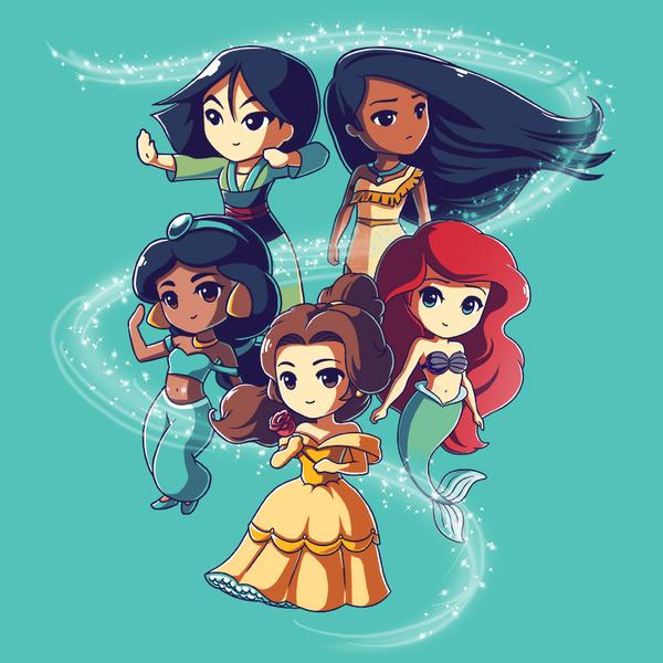 TeeTurtle: Enchanting Princesses