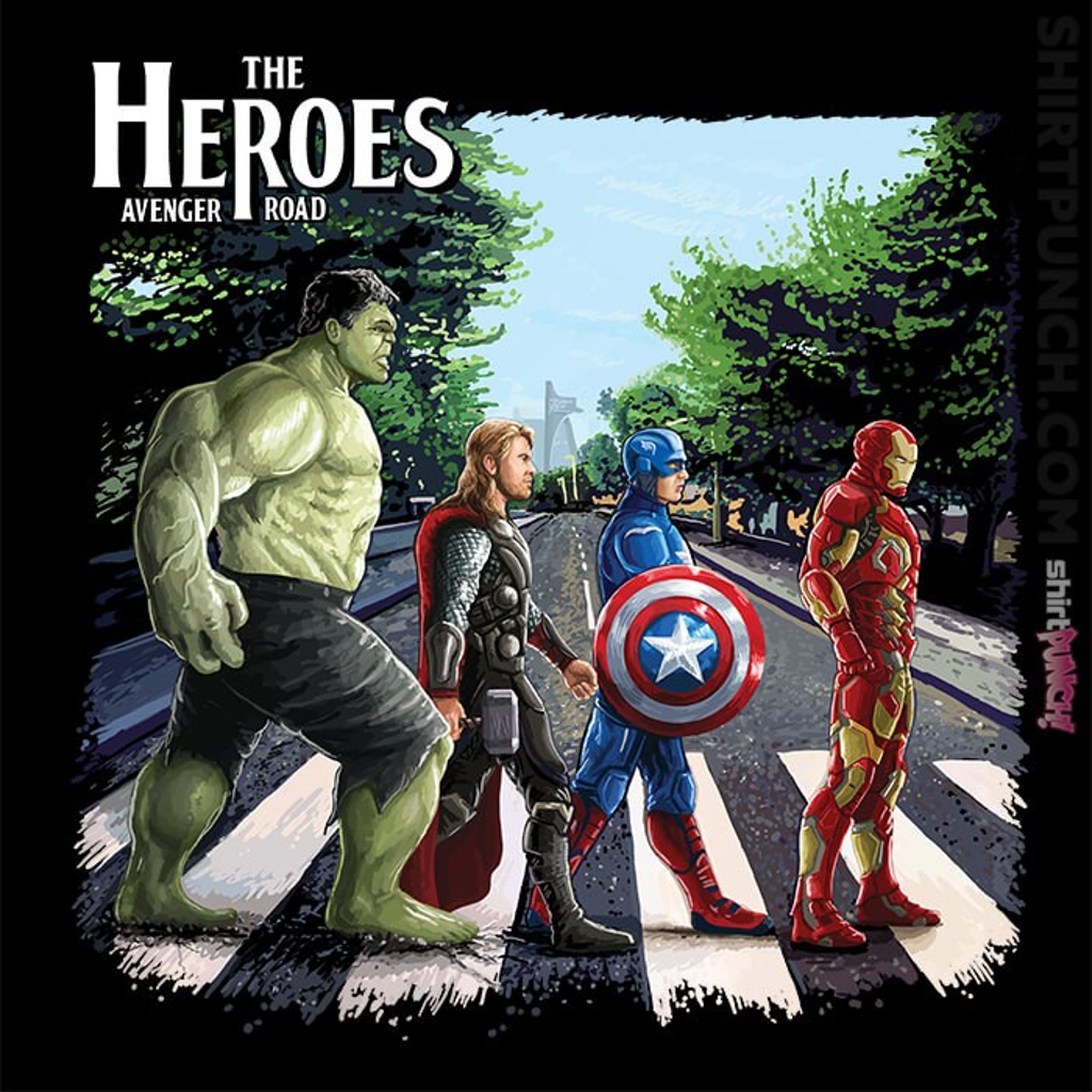 ShirtPunch: The Heroes