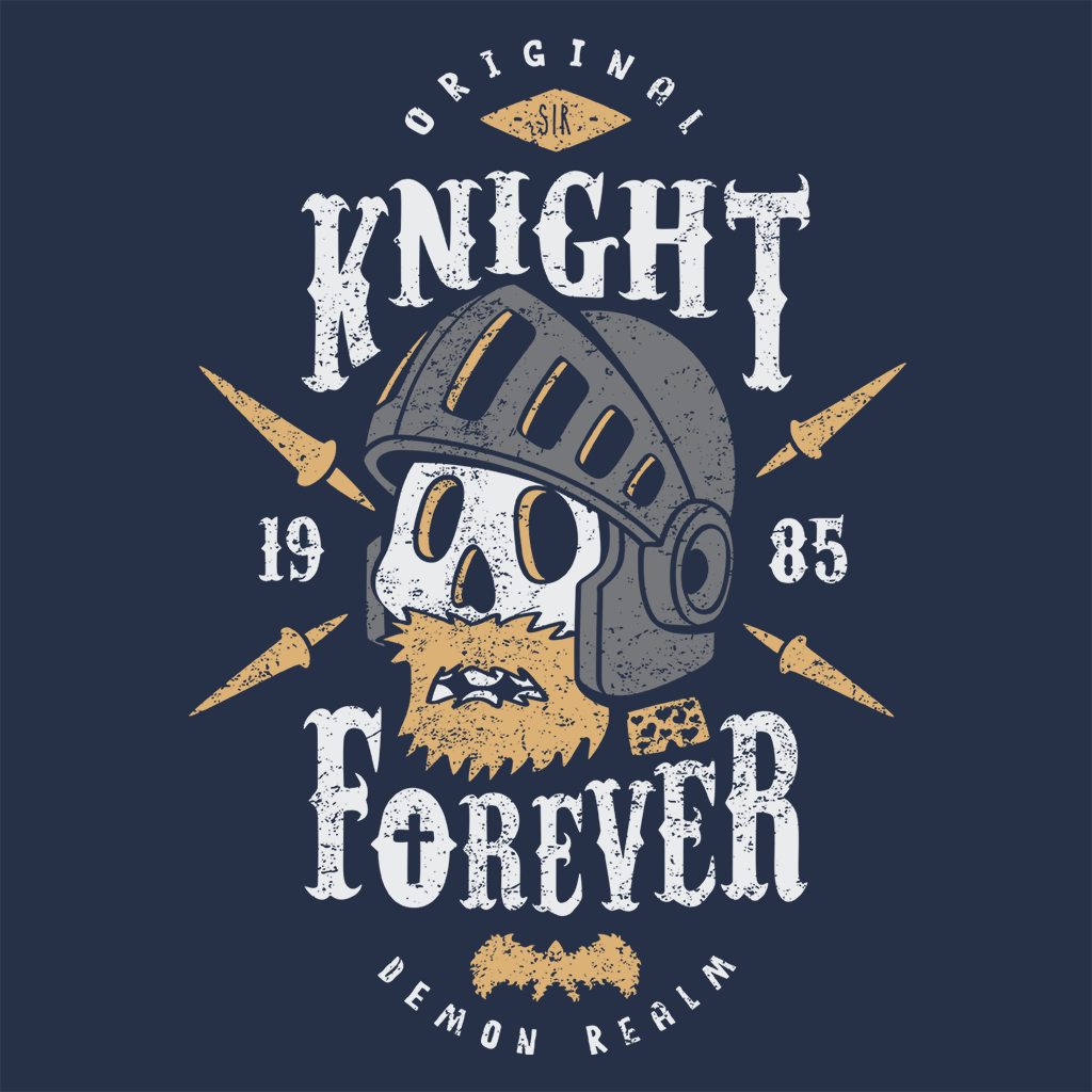 Pop-Up Tee: Knight Forever