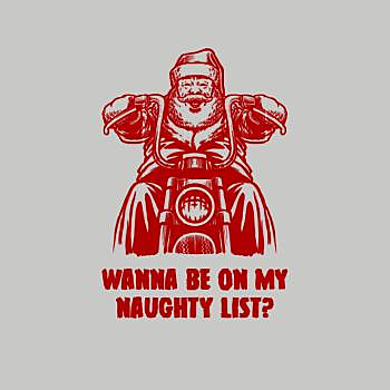 BustedTees: Wanna Be On My Naughty List?